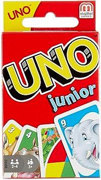 Mattel Games UNO Junior, juegos de mesa para niños, 3-10 años (Mattel 52456): Mattel: Amazon.es: Juguetes y juegos