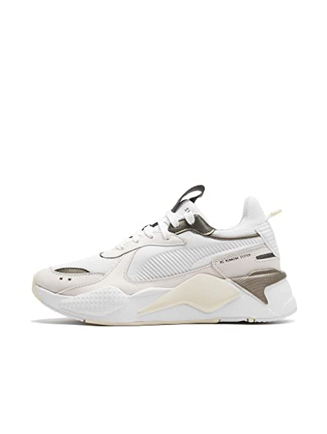97fe814c0ee Puma RS-X Trophy White Bronce 369451 02 Men s Trainers  Amazon.co.uk ...