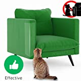 "Anti-scratch Cat Tape for Furniture - Stop Cat from Scratching Couch,Corners of Chair,Door frame, Counter Top and Carpet,Clear Double Sided Tape for Cat Scratching Cat Training Tape 2.5"" x 16 Yard"