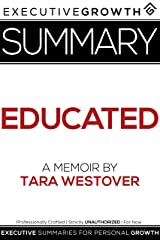 Summary: Educated - A Memoir by Tara Westover Kindle Edition