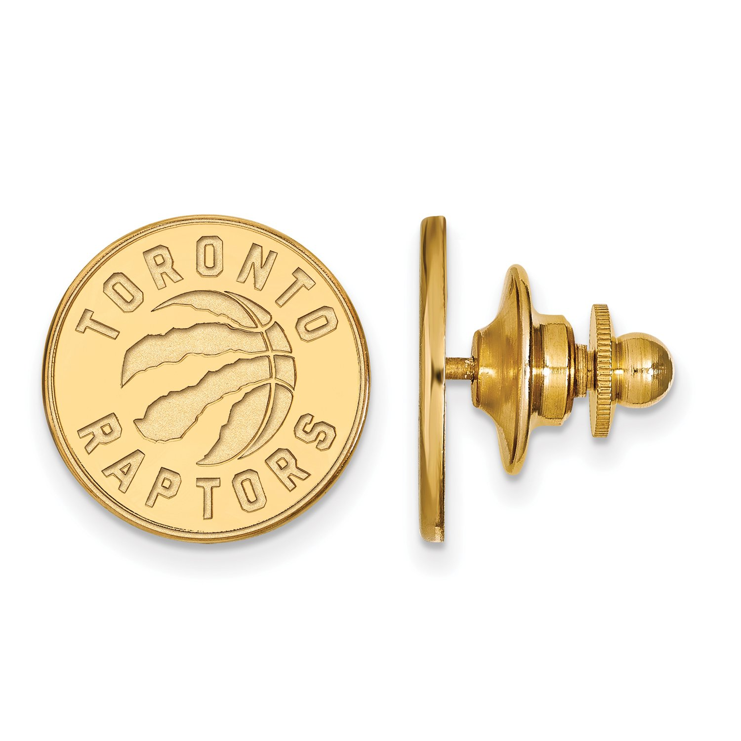 Toronto Raptors Lapel Pin (14k Yellow Gold)