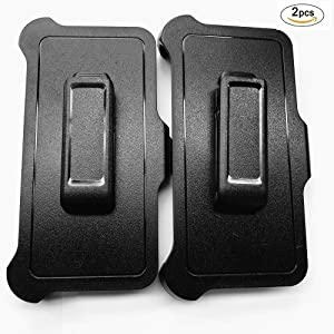"""2 Pack Replacement Belt Clip Holster for OtterBox Defender Series Case Apple iPhone Xs MAX (6.5"""" iPhone Xs MAX) (2 Pack)"""