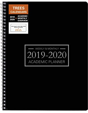 2019 2020 two year monthly pocket planner size 50 x 80 24 month calendar schedule organizer and hand lettering notebook january 2019 and phone book us holidays polka dots
