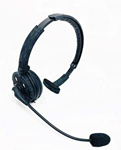 Blue Tiger Pro Combat - Wireless Bluetooth Headphones – Professional Truckers Noise Cancelling Headset with Microphone – Office Headset - Dual Device Connection with no Wires - 20 Hour Talk Time, Camo