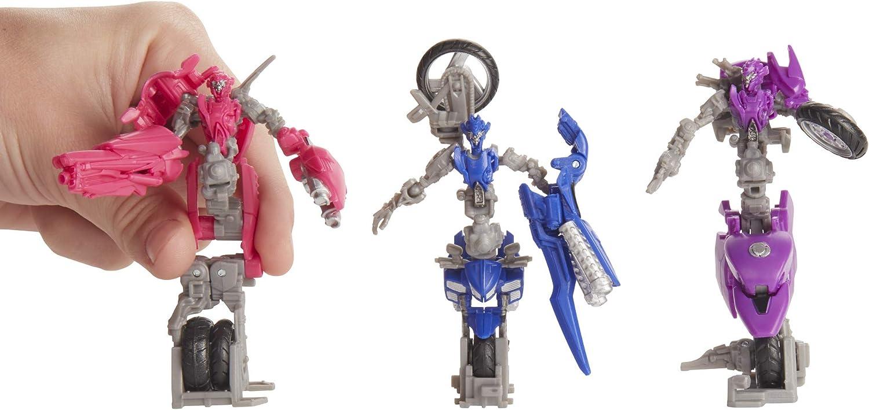 Transformers Hasbro E7198es0 Spielzeug Studio Series 52 Deluxe Die Rache Arcee Chromia Elita 1 Action Figuren 3er Pack Amazon De Spielzeug
