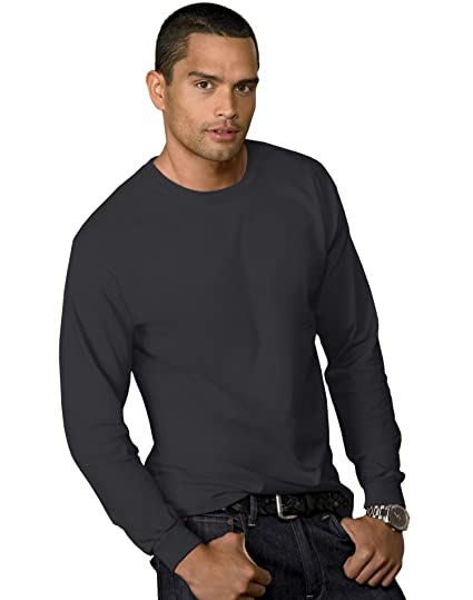 0443210af9 Hanes Men's Tagless ComfortSoft Long-Sleeve T-Shirt | Amazon.com