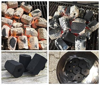 kummert Business Premium Coco Briquetas de carbón para asar Meco Carbón natural, SOSTENIBLE, 3