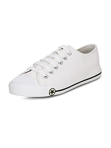 9c064de89eb Get Glamr Women s White Sneakers (GET(GET-6839)-6 UK  Buy Online at ...