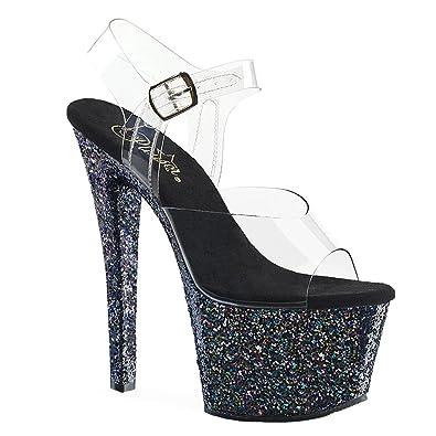 4892d42dc0 Pleaser Flamingo-801, Women's Platform Pumps: Amazon.co.uk: Shoes & Bags