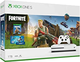 Consola Xbox One S, 1TB + Paquete Fortnite - Bundle Edition