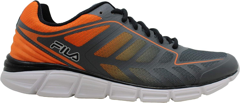 Fila Memory Finity 2 - Camiseta baja con cordones para correr, csrk/vorn/blk, talla 10.5: Amazon.es: Zapatos y complementos