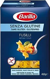 Barilla Fusilli Gluten Free, 400 g (Pack of 1)