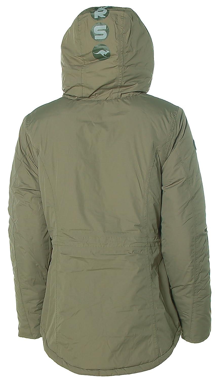 KANGAROOS Damen Parkajacke Outdoor Winterjacke Jacke mit