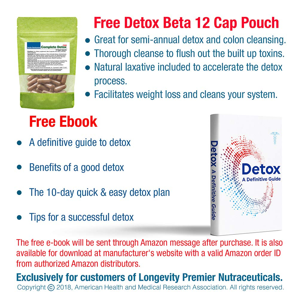 1 Complete Detox Pm Rapid Whole Body With E Plan Electrical Free Download Support For Deeper Sleep Better Relaxation Colon Liver Lymph Kidney Cleanse Goji