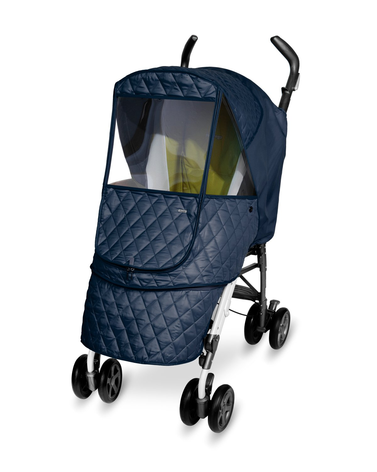 Manito Castle Alpha Stroller Weather Shield (Navy) by Manito