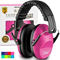 Ear Defenders for Kids Toddlers Children Babies - Hearing Protection Earmuffs Ear Mufs for Small Adults Women Autism - Foldable Design Ear Defenders Adjustable Padded Headband Noise Reduction