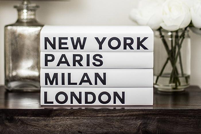 Decorative Books, Fashion Books, Fashion Design, New York, London, Paris,