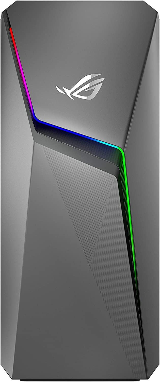 ROG Strix GL10CS Gaming Desktop PC, Intel Core i7-8700, GeForce GTX 1050, 8GB DDR4 RAM, 1TB 7200RPM HDD, 802.11ac WiFi 5, Windows 10 Home, GL10CS-DS751