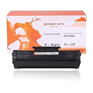 Print-Rite Compatible HP c3906a Negro Cartucho de tóner para HP ...