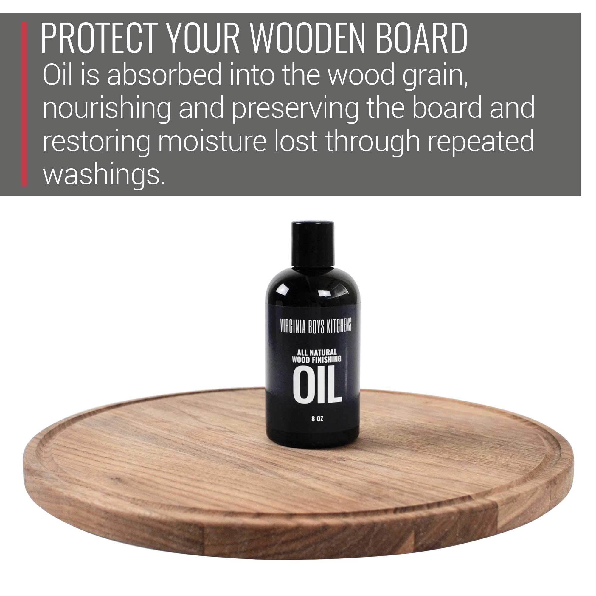 Virginia Boys Kitchens All Natural Wood Seasoning Oil (8 oz Bottle) by Virginia Boys Kitchens (Image #3)