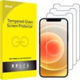 JETech Screen Protector for iPhone 12/12 Pro 6.1-Inch, Tempered Glass Film, 3-Pack