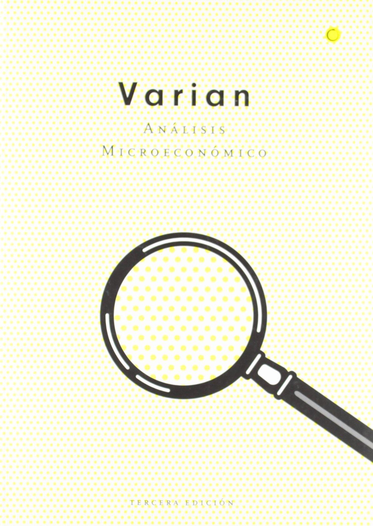 Analisis Microeconomico - 3 Edicion (Spanish Edition)