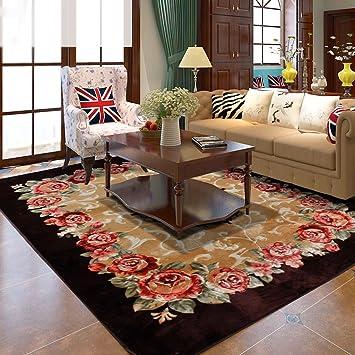 Rugs Supermarket European Luxury Coffee Table Bedroom Carpet Roses