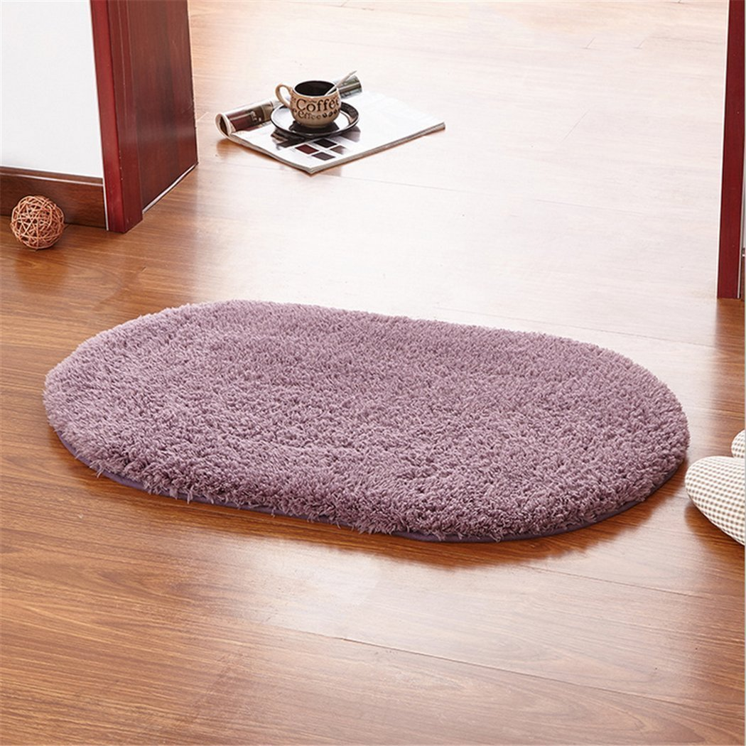 Comfortable and Warm Non-Slip Pet Dog Blanket for Living Room Bedroom Bathroom Kitchen Lamb Pet Cushion(40  60,Greypurple)