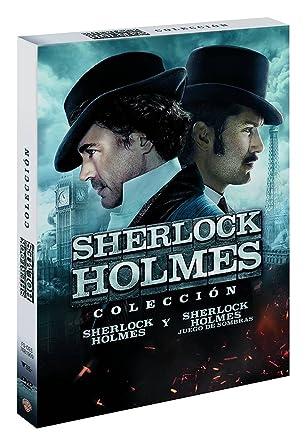 Pack Sherlock Holmes + Sherlock Holmes 2 [DVD]: Amazon.es: Robert Downey Jr., Jude Law, Rachel Mcadams, Mark Strong, Robert Maillet, Kelly Reilly, Eddie Marsan, Geraldine James, William Houston, Guy Ritchie, Robert Downey