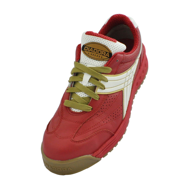 ディアドラPEACOCK【安全靴】(スニーカー紐タイプ)092-PC B00CHGOYTS 27.5 cm|31-RED+WHT 31-RED+WHT 27.5 cm