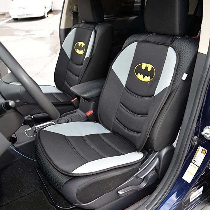 best birthday presents for dad , Batman Car Seat Cushion - Padded Comfort Support for Auto & Home (Pair)