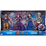Disney Descendants 2 Dolls Isle of the Lost 4 Pack Mal, Evie, Carlos,  Jay (Exclusive)