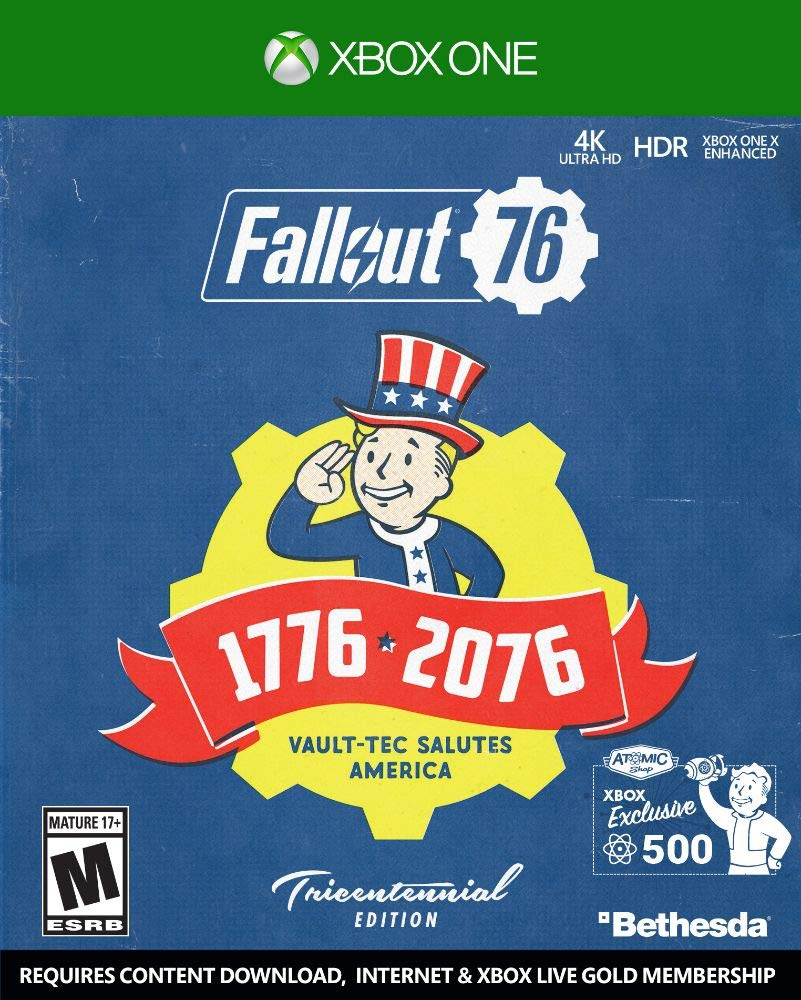 Fallout 76 - Tricentennial Edition for Xbox One [USA]: Amazon.es: Bethesda Softworks Inc: Cine y Series TV