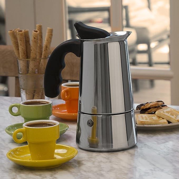 Amazon.com: Primula cafetera de acero inoxidable, Acero ...