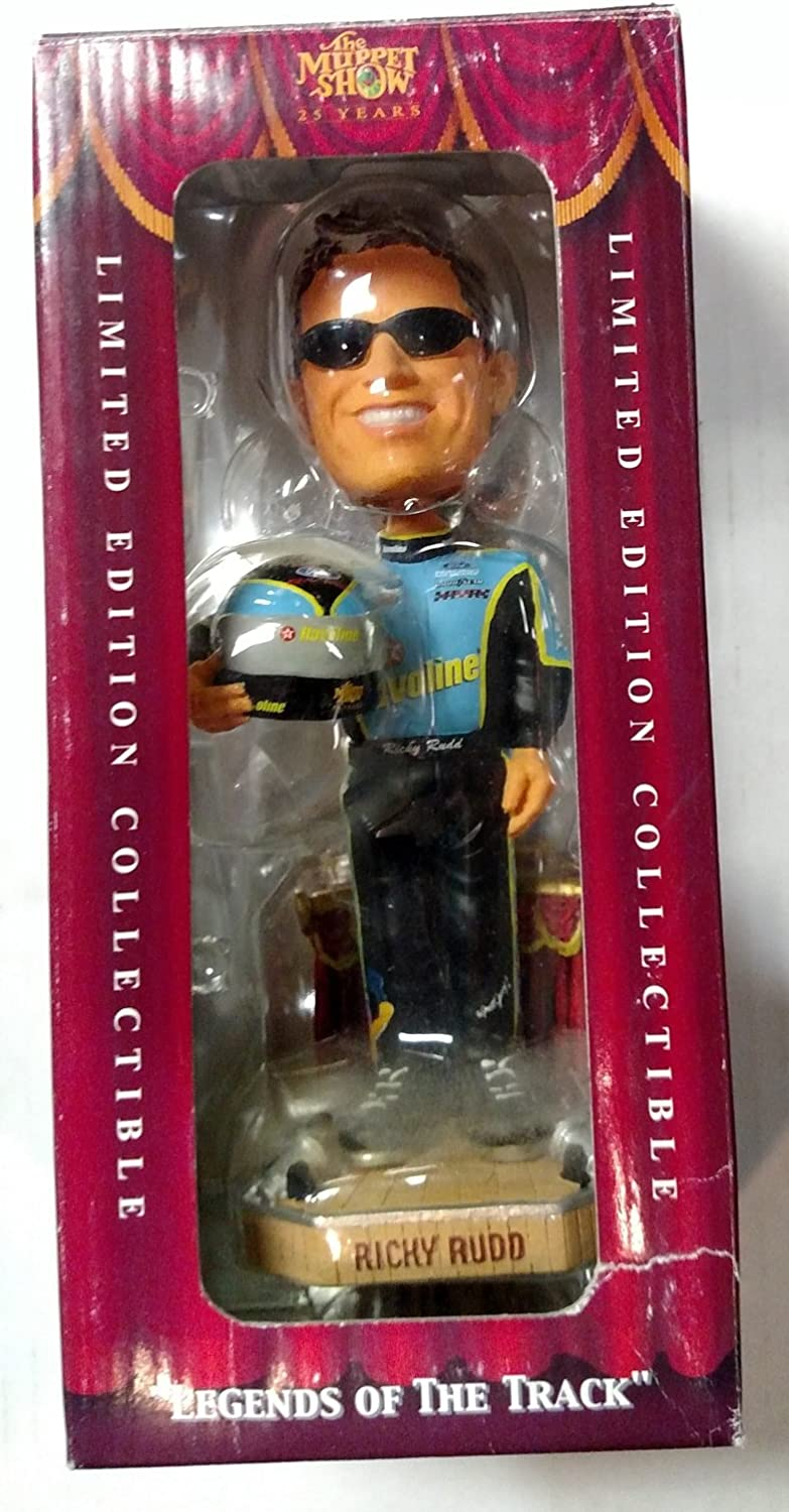 Forever Collectibles NASCAR Ricky Rudd Mens Ricky Rudd Muppets Gonzo Bobbleheadricky Rudd Muppets Gonzo Bobblehead Team Colors One Size