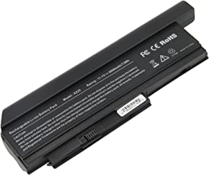 AC Doctor INC Laptop Battery Compatible with Lenovo ThinkPad X220 X220i X220s Series 0A36307 0A36281 0A36282 0A36283 42T4861 42T4862 42Y4864, 6600mAh/11.1V/9-Cells