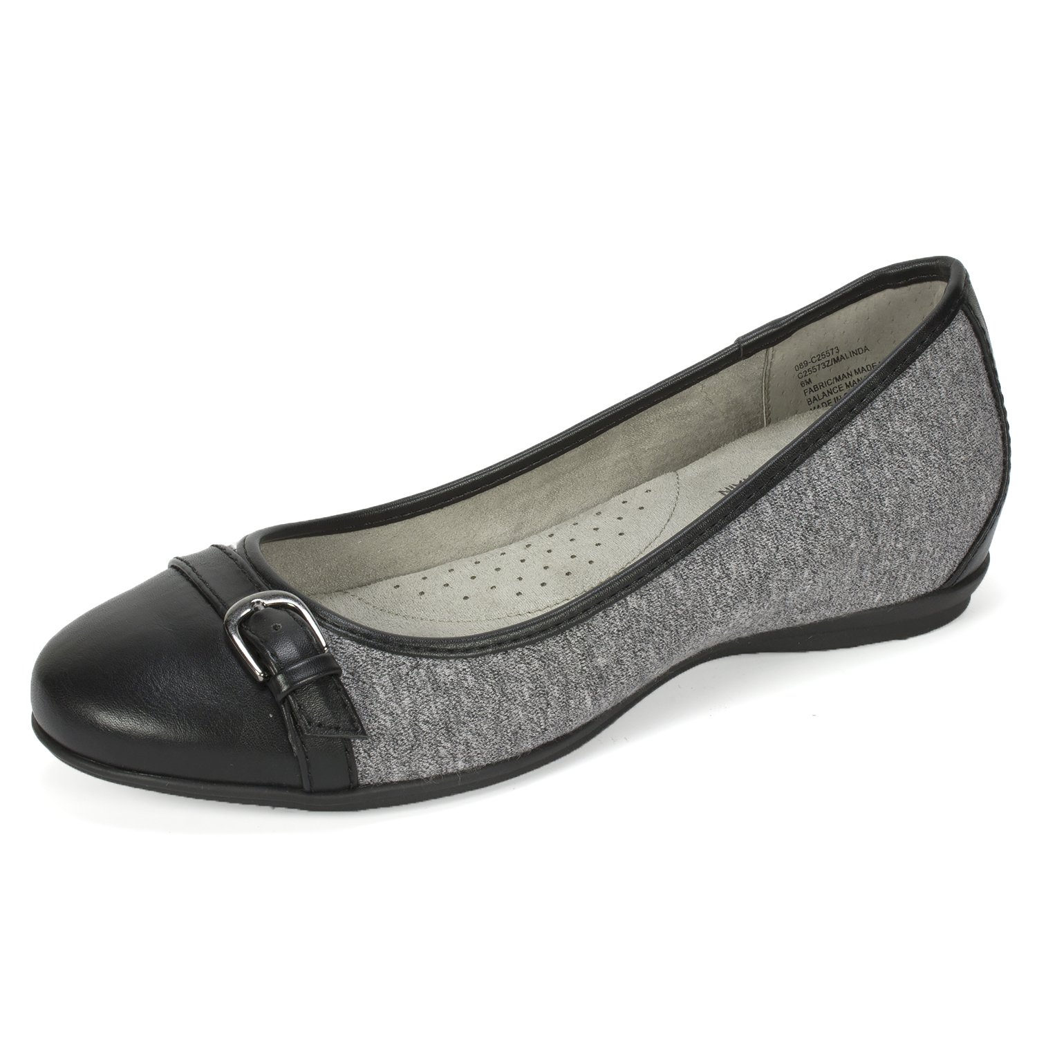 CLIFFS BY WHITE MOUNTAIN Cliffs Malinda Women's Flat B074KJC71J 10 B(M) US|Grey