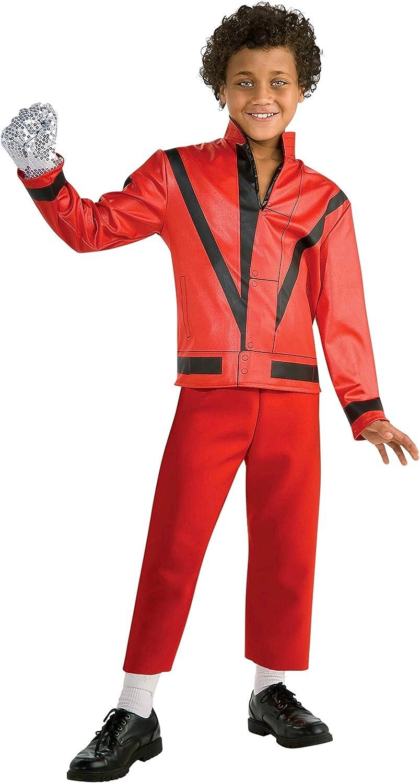 Rubbies - Disfraz de Michael Jackson para niño, Talla 3 - 5 años ...