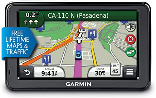 Garmin n vi 2455LMT 4.3-Inch Portable GPS Navigator with Lifetime Map Traffic Updates