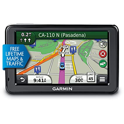 garmin nuvi 2455lmt 4 3 inch portable gps navigator with lifetime map traffic updates