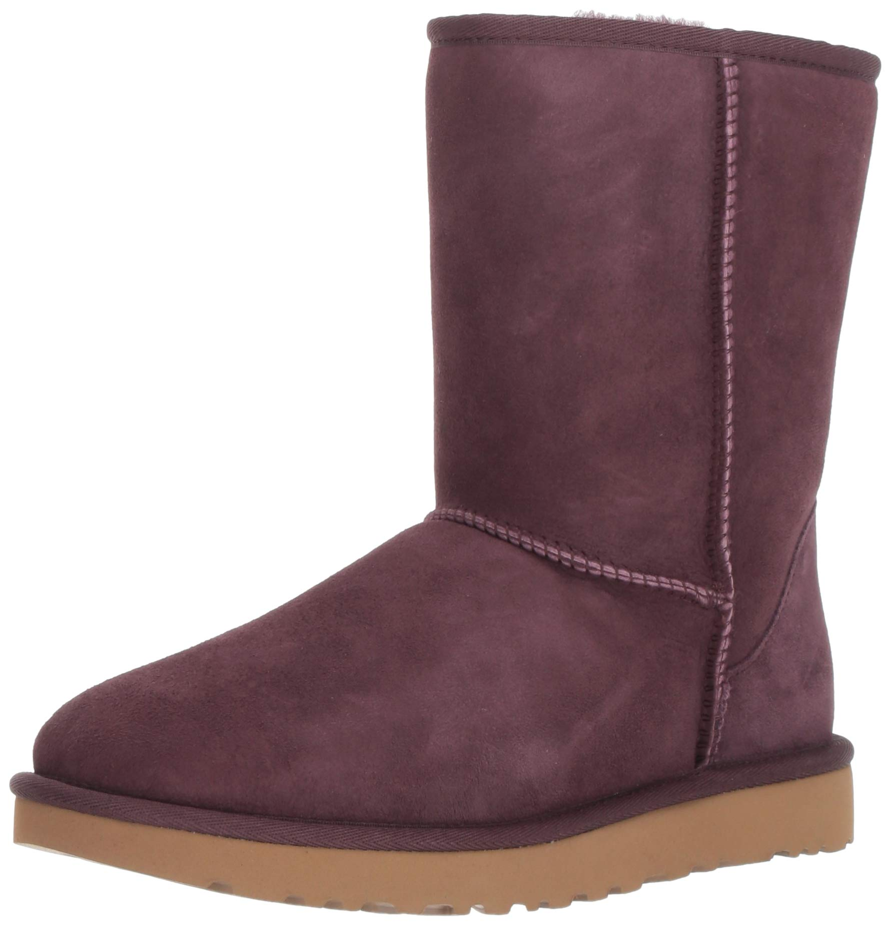 UGG Women's W Classic Short II Fashion Boot, Port, 7 M US by UGG