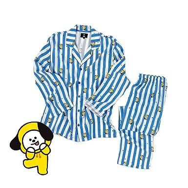 YIAI BTS Bangtan Boys JUNG JOOK Jimin V Same Harajuku Style BT21 Pajamas Sleepwear Nightgown