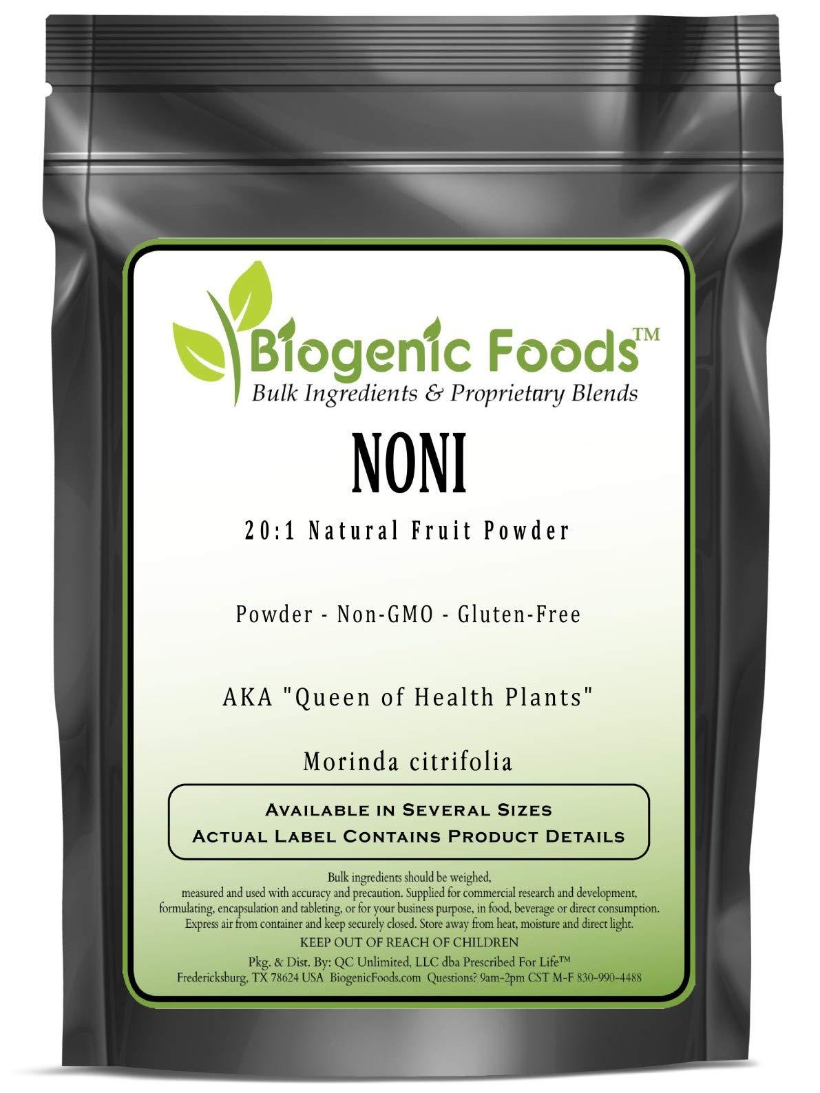 Noni - 20:1 Natural Fruit Powder Extract (Morinda citrifolia), 5 kg