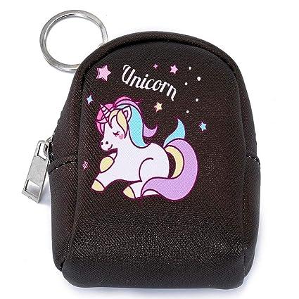 HOXUAN - Monedero con diseño de unicornio y cartera con ...