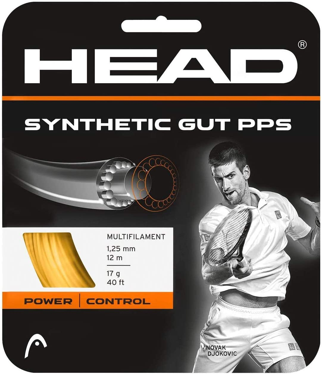 Head Synthetic Multifilament Tennis String review
