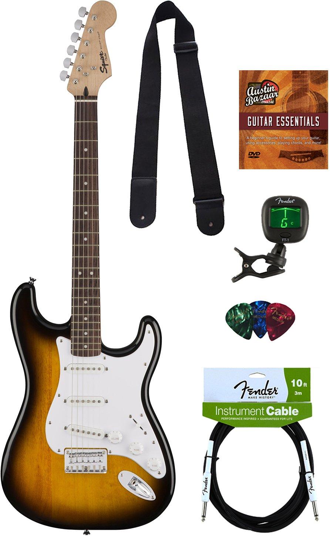 Lote de guitarra Bullet Strat de Squier: Amazon.es: Instrumentos musicales