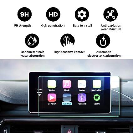 Amazon com: 2018 2019 Audi Q5 2 MMI 8 3Inch in-Dash Protective Film