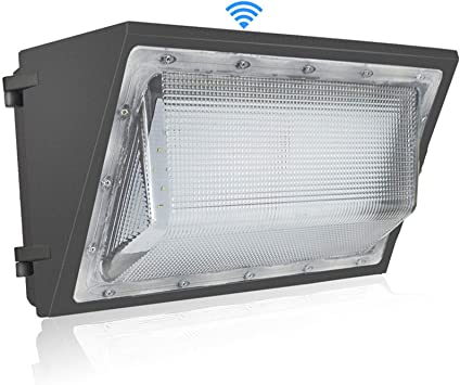 125w Led Wall Pack Light With Dusk To Dawn Photocell 15 000lm And 5700k White Color Outdoor Wall Pack Led Security Light 500 600w Hps Metal Halide Bulb Replacement 125watt Amazon Com