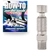 "PointZero Airbrush Quick Release (Disconnect) Coupling Set - 1/8"" BSP"