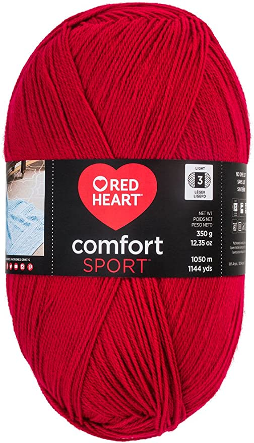 Classic 4 ply yarn 3.5 oz skeins Red Heart